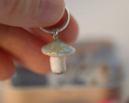 miniatiūriniai rankų darbo grybai