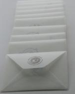 rankų darbo vokai su atvirukais